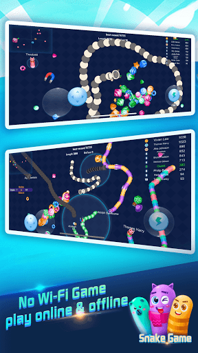 Snake Rivals.io - Slithery Eater in Worm Battle 1.7.2 screenshots 2