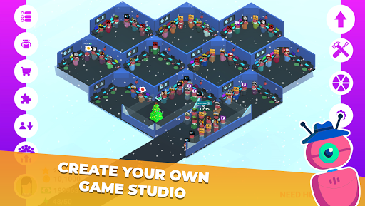 Game Studio Creator - Build your own internet cafe apkslow screenshots 12