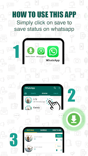 Status Download for WhatsApp android2mod screenshots 1