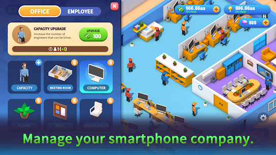 Smartphone Inc-Mobile Phone Designer Mod Apk (Unlimited Money/Diamonds) 2