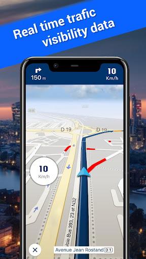 Offline Maps, GPS Navigation & Driving Directions 3.5 Screenshots 3