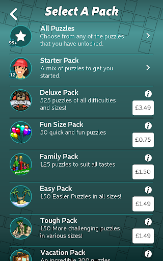 Astraware Number Cross 2.58.000 screenshots 16