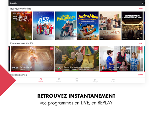 myCANAL, vos programmes en live ou en replay screenshots 18