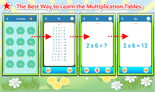 Free Multiplication Tables Challenge (Math Games) 1