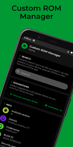 Download APK: [ROOT] Custom ROM Manager (Pro) v6.6.1.10 [Patched]