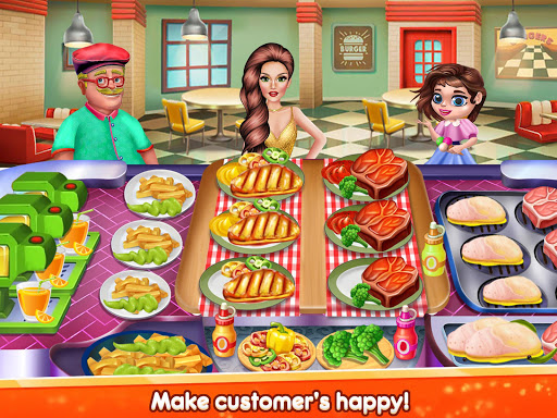 Kitchen Star Craze - Chef Restaurant Cooking Games  screenshots 12