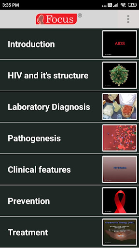 HIV and Aids 1.0.2 Screenshots 2