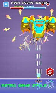 Space Shooter – Pixel Force Hack Cheats (iOS & Android) 3