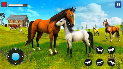 Wild Horse Family Simulator : Horse Games  screenshots 1