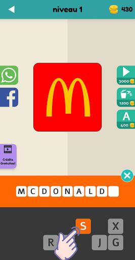 Logo Test: Franu00e7ais Quiz & Jeu, Devinez la Marque screenshots 4
