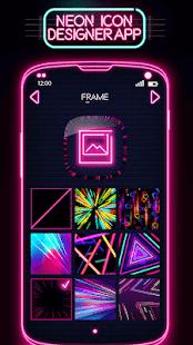 Neon Icon Designer App