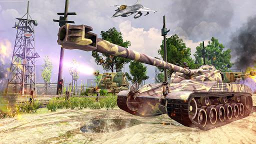 Battle of Tank games: Offline War Machines Games screenshots 13