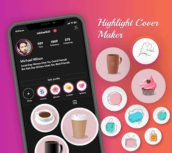 Highlight Cover Maker for Instagram Story 1.0.1 screenshots 1