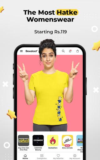 Bewakoof - Online Shopping App for Men & Women apktram screenshots 5