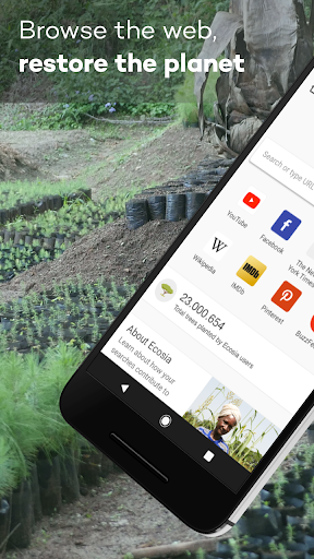 Ecosia - Trees & Privacy 4.1.4 Screenshots 1