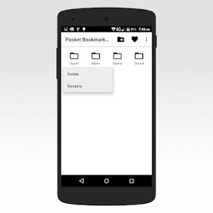 Pocket Bookmark Pro 1.7 Apk 5