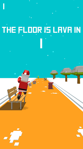 Xmas Floor is Lava !!! Christmas holiday fun ! Apkfinish screenshots 5
