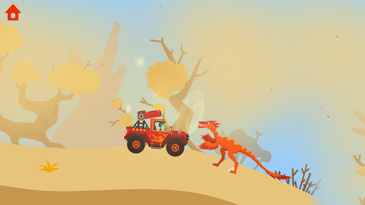 Dinosaur Guard - Jurassic! Driving Games for kids  screenshots 20
