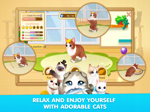 LINE Cat Cafu00e9 1.0.19 screenshots 12