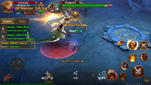 War of Rings-Awaken Dragonkin apkdebit screenshots 19
