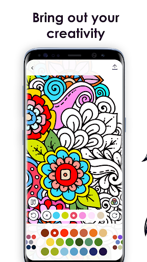 MyColorful – Coloring Book for Adults  screenshots 1