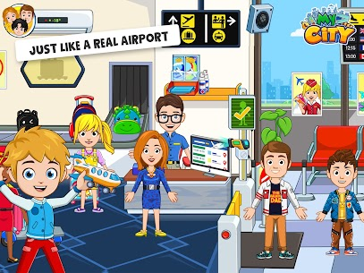 My City : Airport [Paid, MOD] For Android 9
