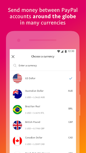 PayPal Mobile Cash: Send and Request Money Fast 7.30.1 Screenshots 6