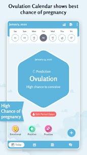 Period Tracker: Ovulation Calendar & Fertile Days 1.6 Apk 4