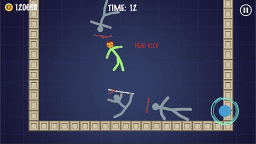 Stick Warriors - Battle Fight modiapk screenshots 1