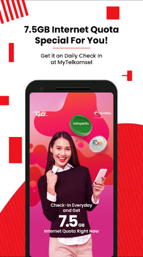 Download MyTelkomsel – Buy Credit/Packages & Get 7.5GB mod apk