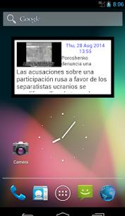 Descargar Widget del diario EL PAIS para PC ✔️ (Windows 10/8/7 o Mac) 1