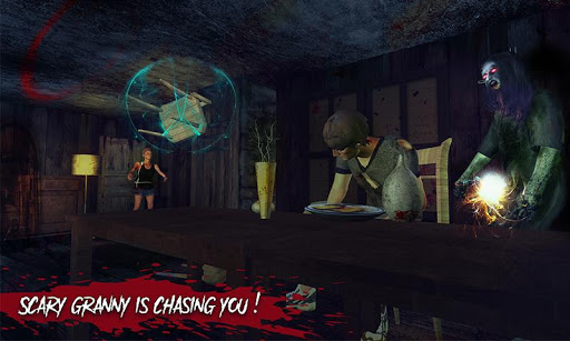 Haunted House Escape - Granny Ghost Games  screenshots 5