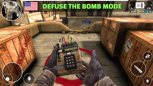 Code Triche Counter Attack - Multiplayer FPS (Astuce) APK MOD screenshots 3
