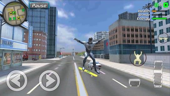 Hurricane Superhero Mod Apk: Wind Tornado Vegas Mafia (Unlimited Skills) 2