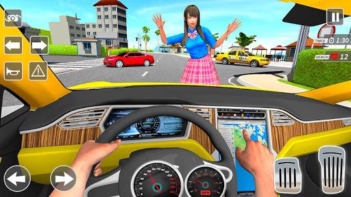 Taxi Driving Simulator City Car New Games 2021 0.3 screenshots 4