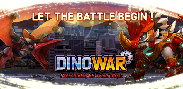 Dino War Pteranodon VS Triceratops Game Hack Android and iOS 1