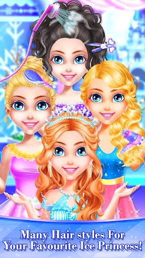 Little Ice Queen Princess Beauty Triplet Salon 1.9 screenshots 1
