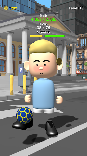 The Real Juggle - Pro Freestyle Soccer 1.3.12 screenshots 2