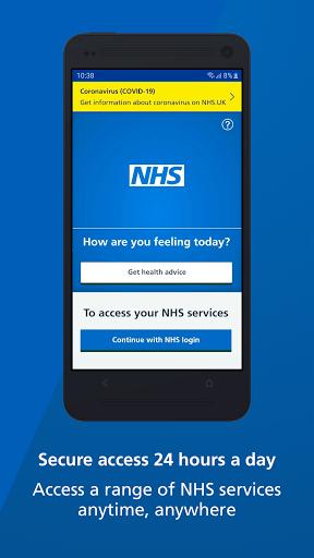 NHS App  Screenshots 1