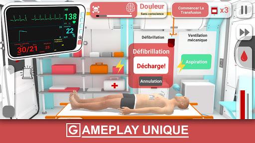 Réanimation inc. Simulateur d'une urgence SAMU ER APK MOD – ressources Illimitées (Astuce) screenshots hack proof 1