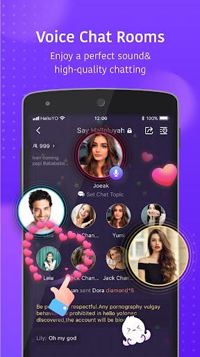 Hello Yo - Group Chat Rooms  Screenshots 1