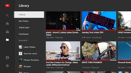 YouTube for Android TV 3