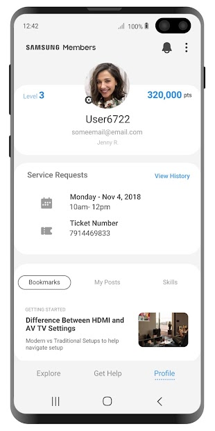 Samsung Members v1 screenshot 2