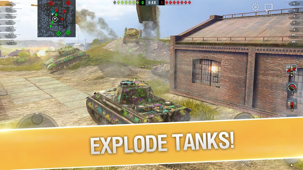 World of Tanks Blitz PVP MMO 3D tank game for free poster 4