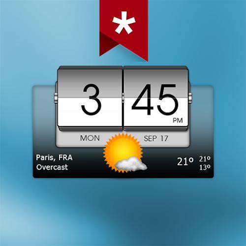 3D Flip Clock & Weather - Pro (Premium) 5.98.2 mod