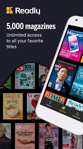 Readly - Unlimited Magazine Reading  screenshots 1