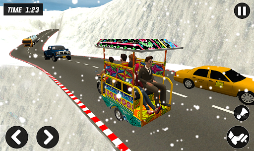 Chingchi Rickshaw Game:Tuk Tuk Parking Simulator screenshots 5