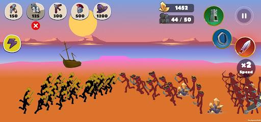 Stickman Battle Empires War  screenshots 7