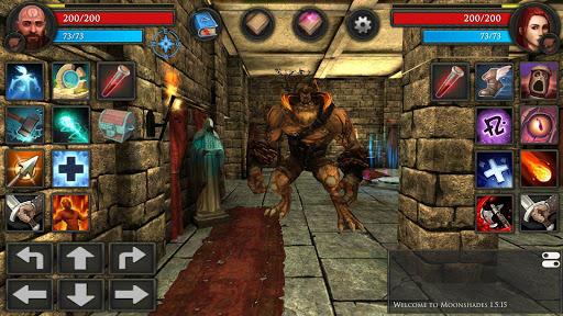 Moonshades: dungeon crawler RPG game  screenshots 9