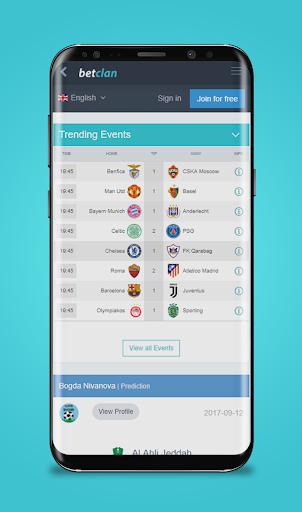 BetClan - Sports Predictions Portal  screenshots 2